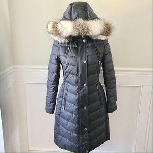 Halifax Traders Quilted Puffer Hooded Parka S